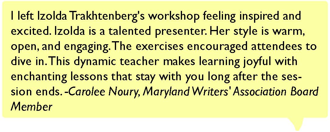 testimonial quote 2 workshop reviews