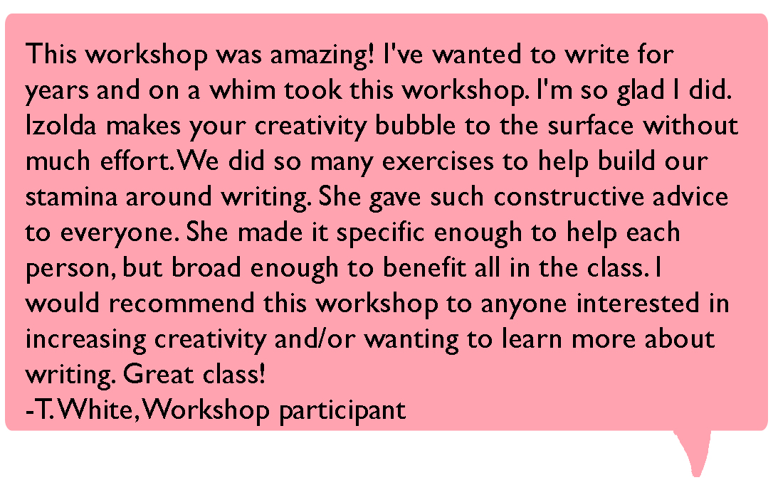 workshop reviews T White