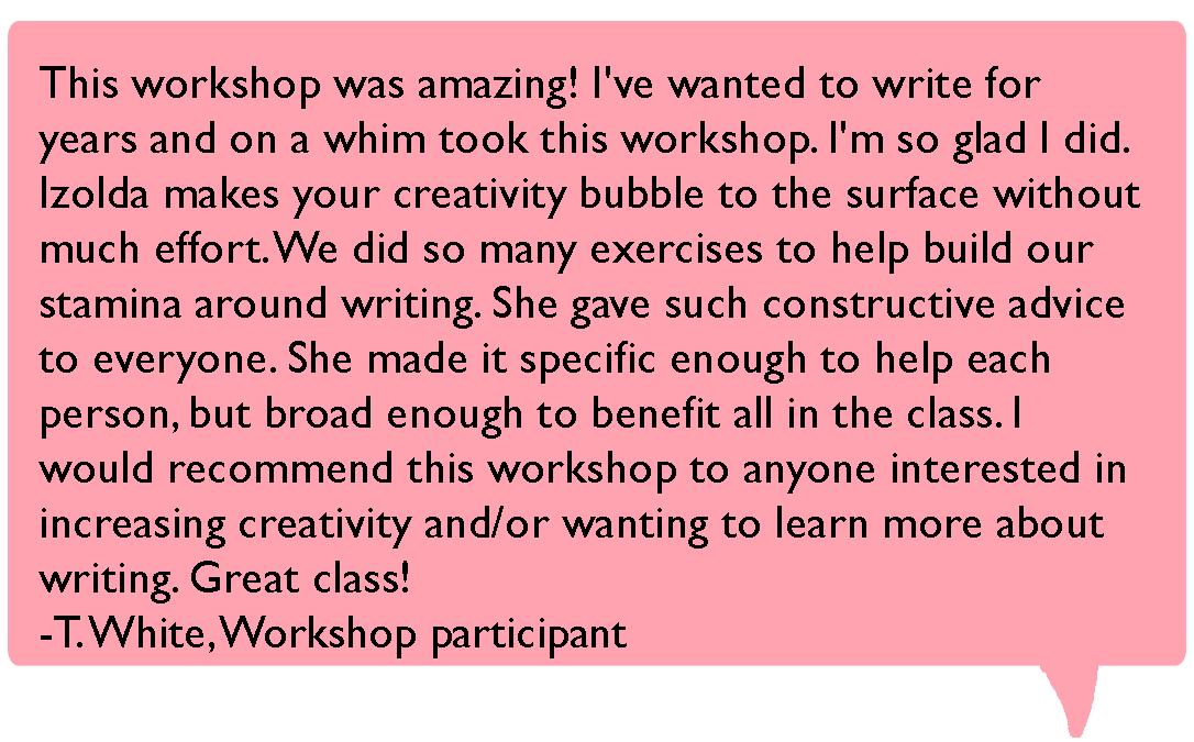 workshop reviews T White