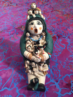 storyteller statue